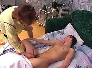 Elise ols and young handjob amateur
