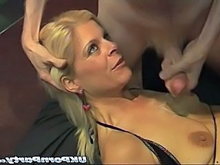 English mature gangbang