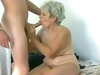 chubby job Mature blow