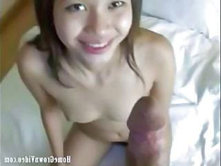 too babe sucks and gets fucked by a big cock above told the